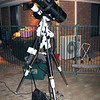 "Borrowed 8"" PowerNewt f/2.8 setup on my EQ6 mount for astrophtography - 14/12/2011"