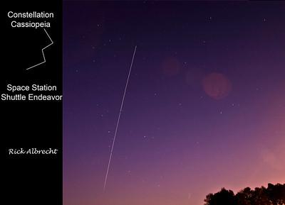 08-OX4680 ISS & Suttle SKY-4