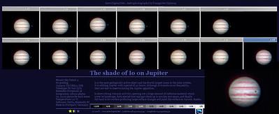 Io transit on Jupiter