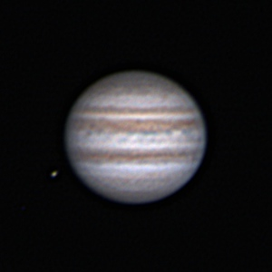Jupiter and Europa, Dec. 31th, 2012 18:45 GMT+1