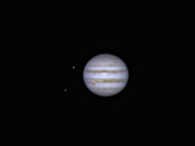 Calisto, Europa, Jupiter with GRF