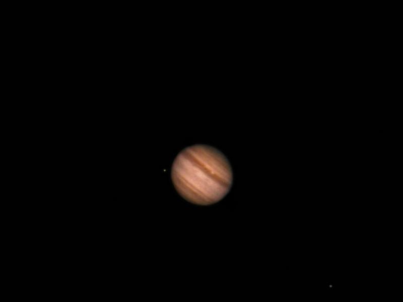 Jupiter Sept 11, 2010 24 inch telescope Nikon 990.