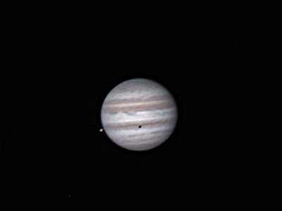 Jupiter and Io on Sept.9th 2012