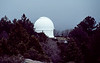 01,  The Schmidt Camera is mounted in a 48 foot diameter dome about a half mile from the 200 inch Hale telescope dome.