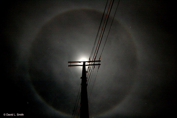 The Moon from the pole