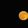 November Full Moon 2012 with Jupiter
