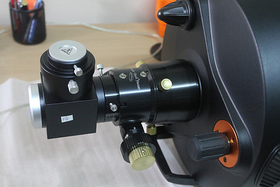 Celestron C11 HD with new Starlight Instruments focusing system.  Mirror Diagonal  : Takahashi