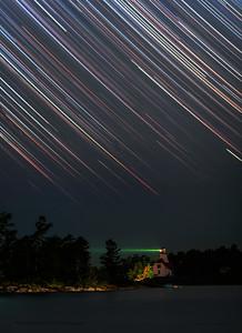 Night Fall Georgian Bay