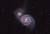 June 07,2011 Super Nova data added to March 24,2011 color data.  Super nova at approx 6 0'clock...Lynn Hilborn, WhistleStop Obs