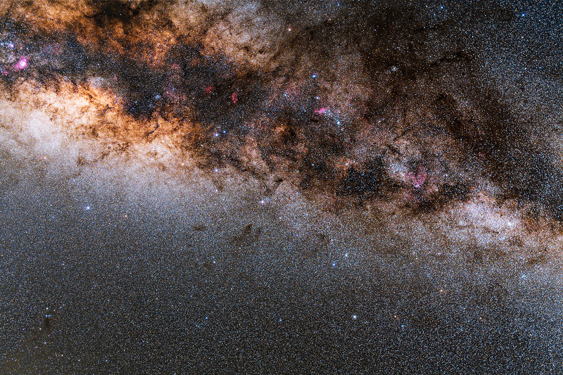 Under the Belly of the Milky Way