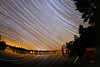 Kayaks, meteors and Star trails