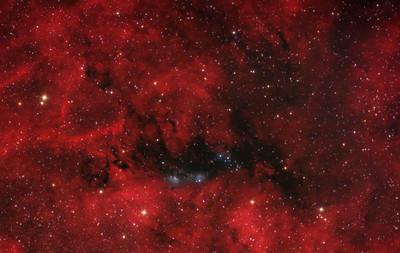 NGC 6914 Reflection nebula in Cygnus