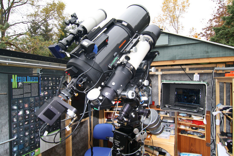The Workhorse...WhistleStop Observatory, Grafton,Ontario