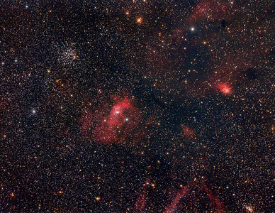 M52 and The Bubble