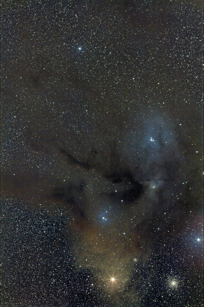 Rho Antares...Canon 50D modified, Canon 200mm shot at f 4. 4x 10 minutes. Taken May 2009 by Lynn Hilborn, Grafton, Ontario.