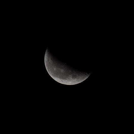 Crescent Moon, 10/9/2012