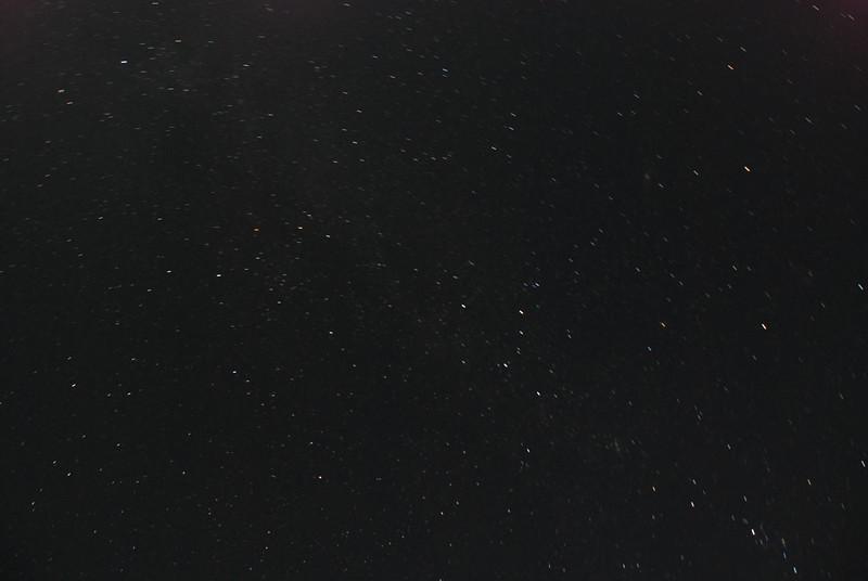 Night stars near Gabriels