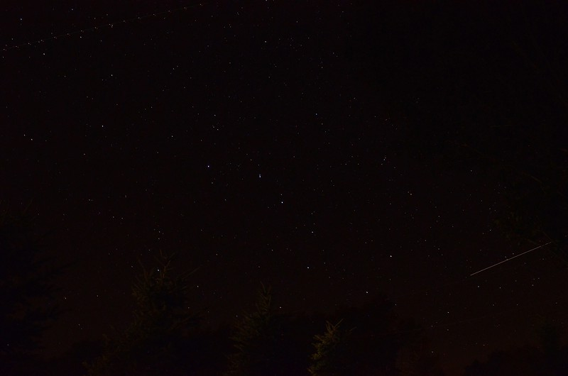 Large Perseid meteor entering Ursa Major 8/12/13 21:43 EDT