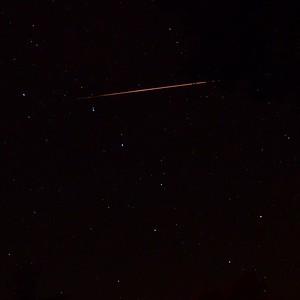 Close-up of large Perseid meteor entering Ursa Major 8/12/13 21:31 EDT