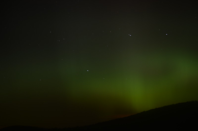 Aurora from Gabriels, NY, 10/8/2012