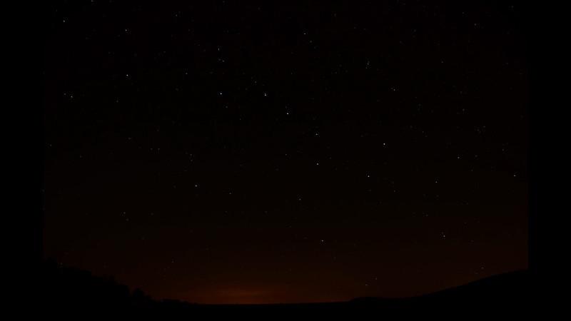 Video of Star Trails - September 16, 2012