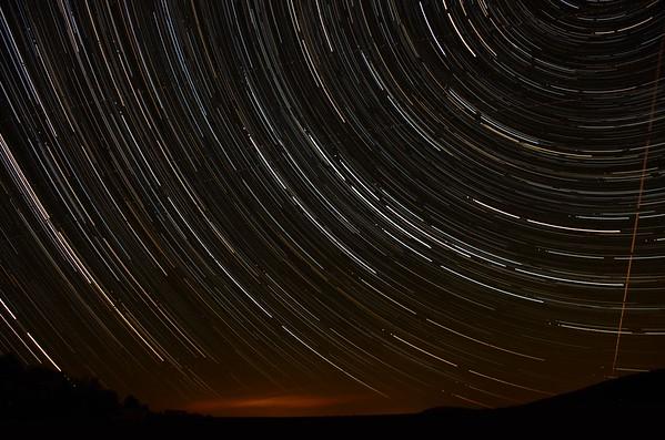 Star Trails - September 16, 2012