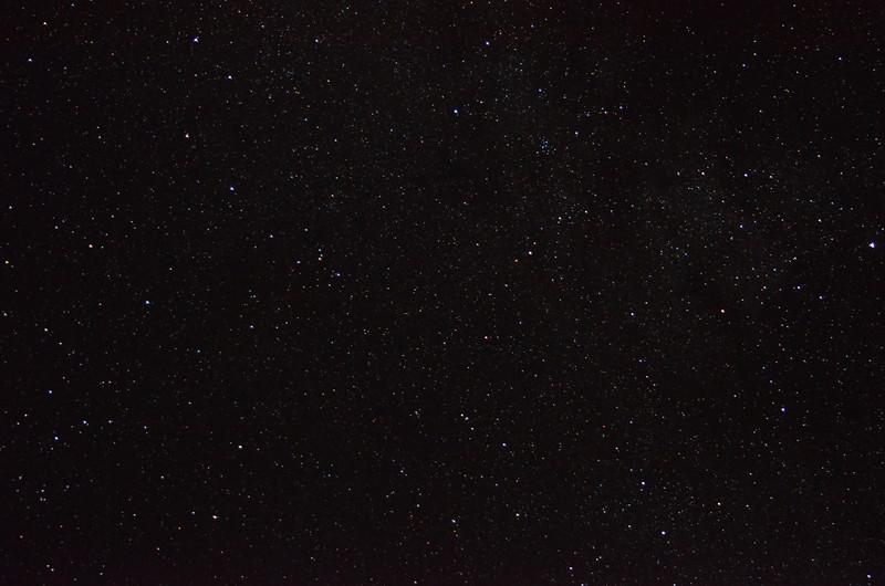 Amazing star field on a clear night, 9/12/2012