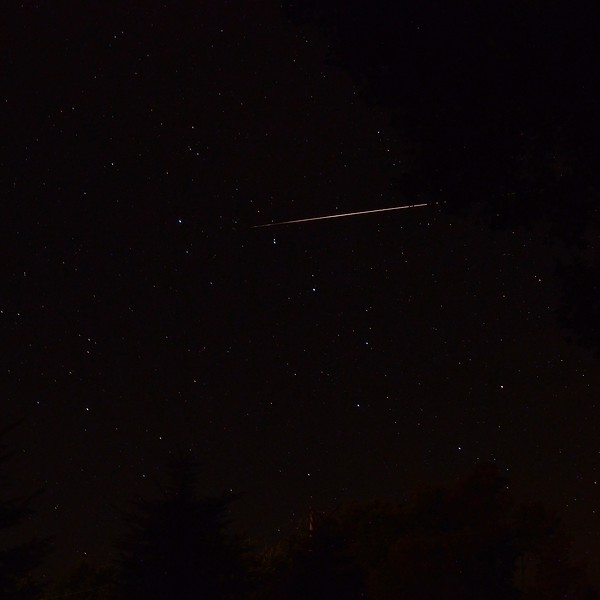 Large Perseid meteor entering Ursa Major 8/12/13 21:31 EDT