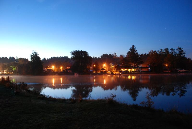 Pre-dawn Pontiac Bay, Lake Flower
