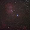 Caldwell 100 - IC2944 Running Chicken or Lamda Centauri Nebula - 1/4/2011 (Processed stack)