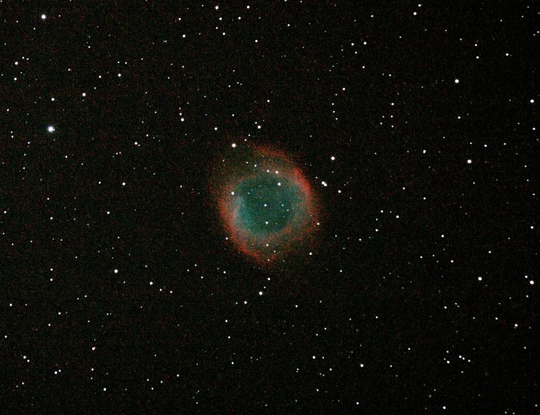 Caldwell 63 - NGC7293 - Helix Nebula -29/5/2011 (Reprocessed cropped stack)