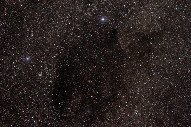 C99 Coalsack Nebula - The Emu's Head - 26/01/2020 (Processed Stack