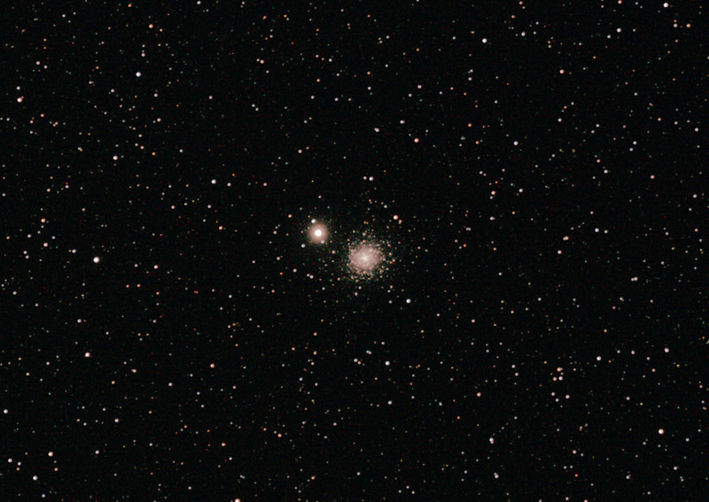 Caldwell 84 - NGC5286 Globular cluster in Centaurus - 22/6/2012 (Processed cropped stack)