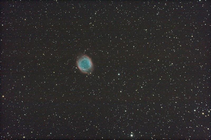 Caldwell 63 - NGC7293 - Helix Nebula - 26/8/2011 - Dark Sky site near Wagin (Processed stack)