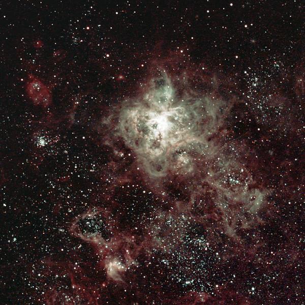 Caldwell 103 - 30 Doradus Tarantula Nebula - 18/12/2020 (Processed cropped stack)