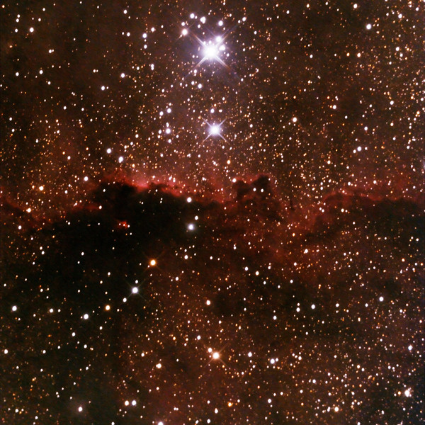 NGC6188 - Gum 53 - RCW108 - Rim Nebula in Ara - 12/2/2021 (Processed cropped stack)