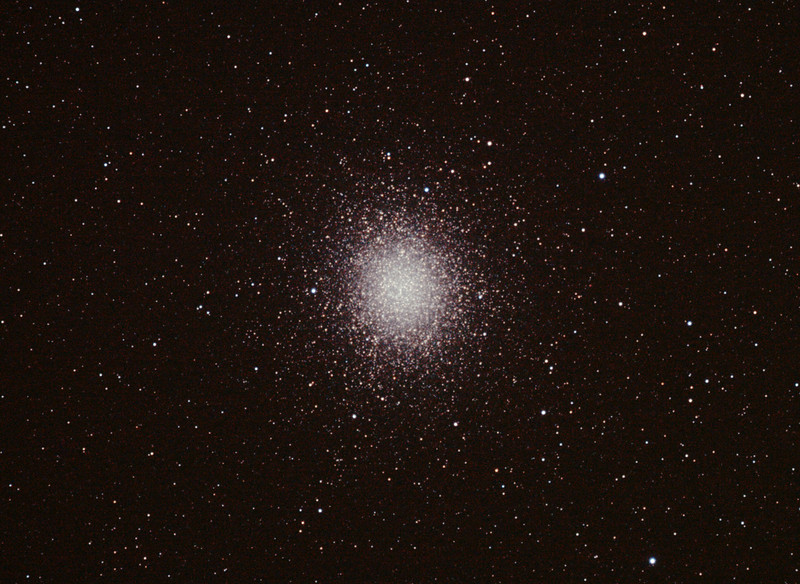 Caldwell 80 - NGC5139 Omega Centauri Globular Cluster 9/1/2011 (Reprocessed and cropped stack)