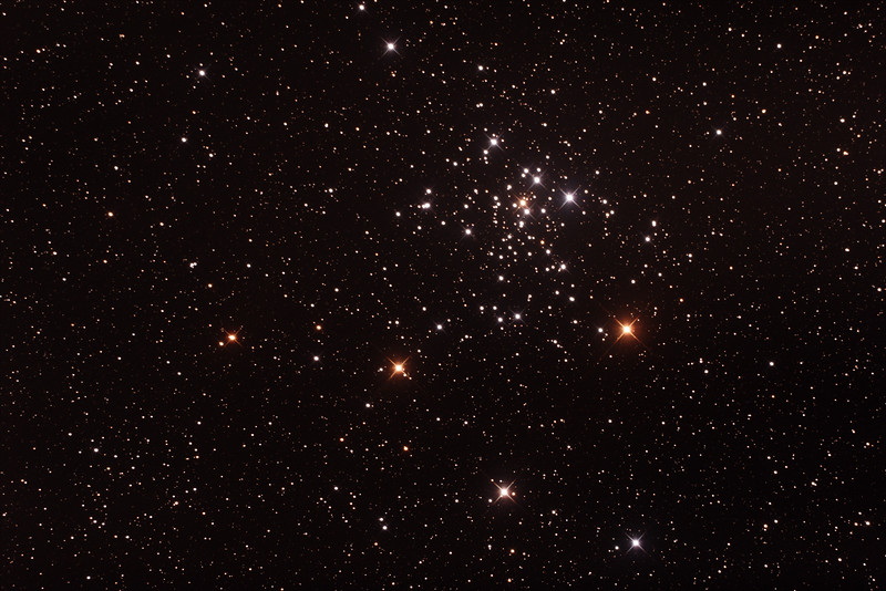 Caldwell C96 - NGC2516 - The Diamond Cluster/Southern Beehive - 3/2/2017 (Processed stack)