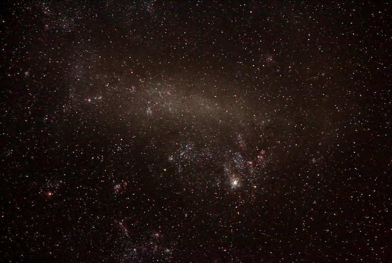 Large Magellanic Cloud - 15/10/2018 (Processed Stack)
