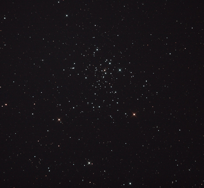 Caldwell 96 - NGC2516 The Diamond Cluster - 28/12/2011 (Processed cropped stack)