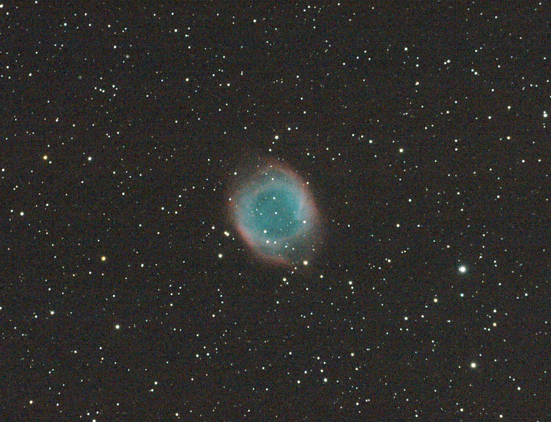 Caldwell 63 - NGC7293 - Helix Nebula - 26/8/2011 - Dark Sky site near Wagin (Processed cropped stack)