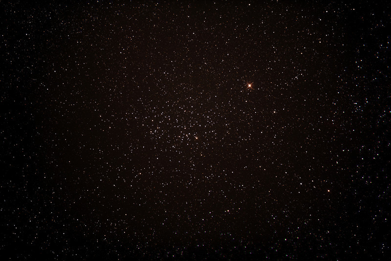 Caldwell 91 - NGC3532 - Wishing Well Cluster - 23/2/2014 (Processed stack)