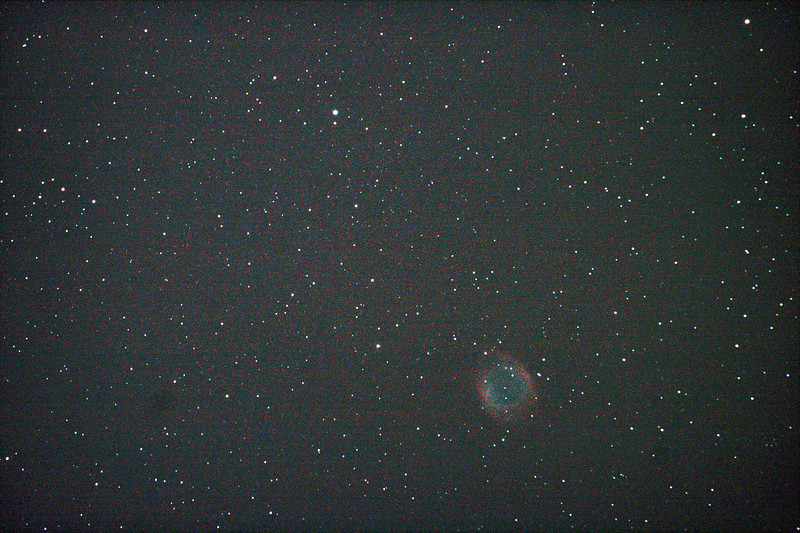 Caldwell 63 - NGC7293 - Helix Nebula - 28/5/2011 (Processed single image)