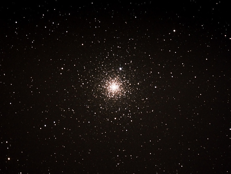 Caldwell 93 - NGC6752 - Starfish or Windmill Globular Cluster in Pavo - 12/7/2013 (Processed cropped stack)