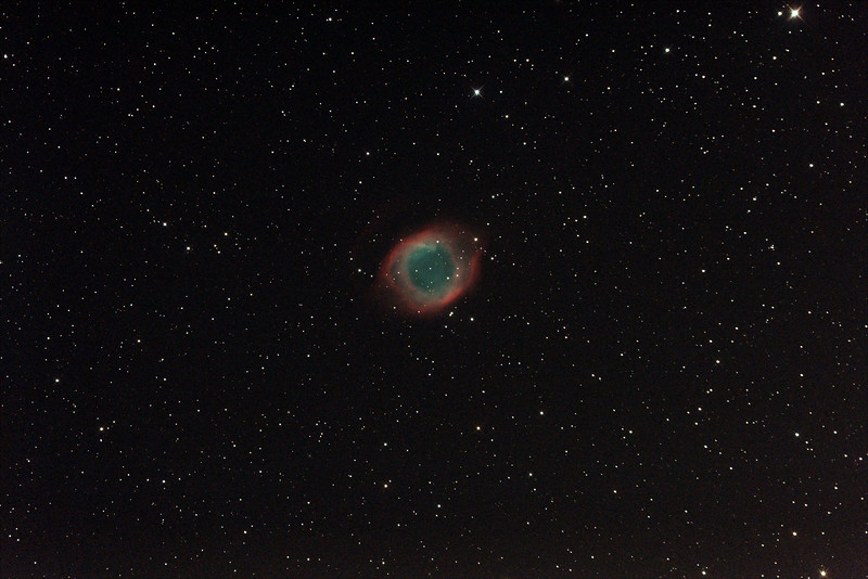 Caldwell 63 - NGC7293 - Helix Nebula - 23/8/2014 (Processed stack)
