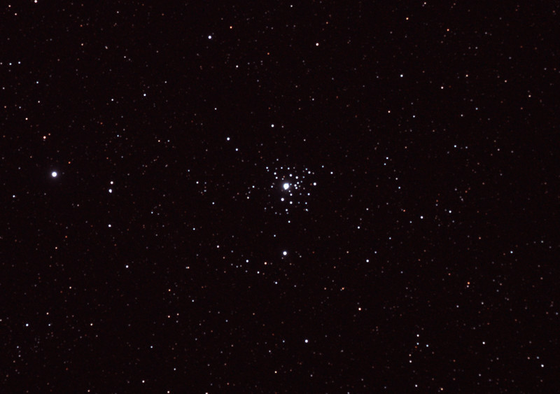 Caldwell 64 - NGC2362 Tau Canis Majoris Cluster - 10/12/2010 (Cropped & Processed stack)