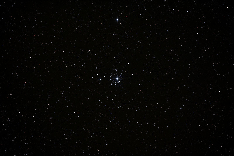 Caldwell 64 - NGC2362 - Tau Canis Majoris Cluster - 3/2/2013 (Processed stack)