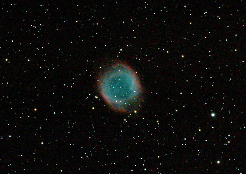 Caldwell 63 - NGC7293 - Helix Nebula - 26/8/2011 - Dark Sky site near Wagin (Re-processed cropped stack)