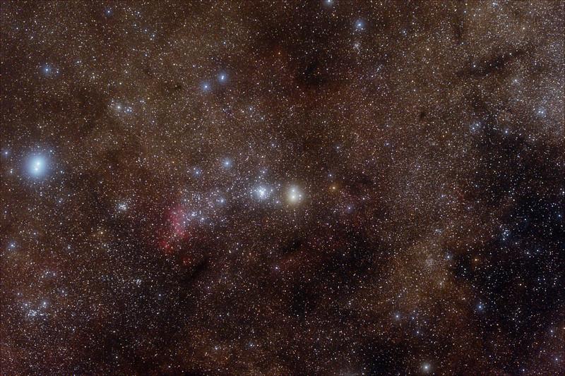 Prawn Nebula and surrounds - 23/5/2020 (Processed stack)