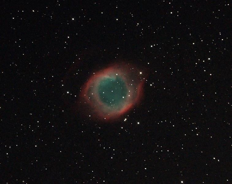 Caldwell 63 - NGC7293 - Helix Nebula - 23/8/2014 (Processed cropped stack)